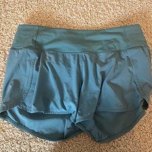 LULU athletic shorts